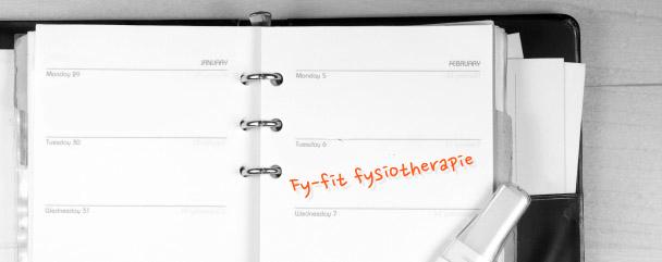 afspraak fy-fit fysiotherapie nijmegen